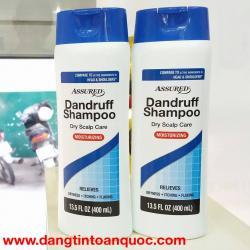 Dầu Gội Trị Gàu Assured Dandruff Dry Scalp Care Moisturizing