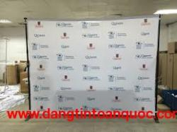 Dịch vụ thiết kế in ấn standee, backdrop, banner